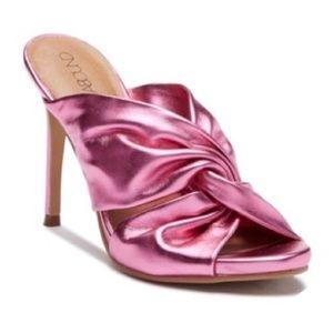 Shoes - Pink metallic heels
